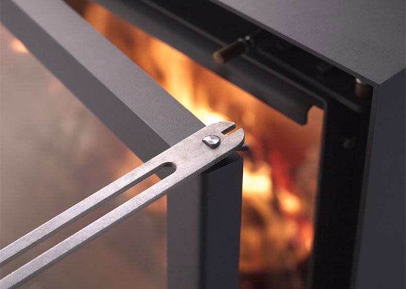 Système de chauffage au bois